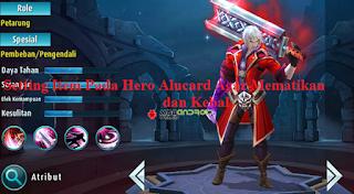 Mobile Legends Guide Alucard, Membuat Hero yang Mematikan dan Kebal
