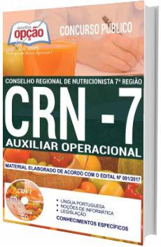 Apostila Concurso CRN 7ª região 2018 Auxiliar Operacional