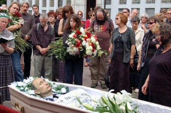 Путин в гробу