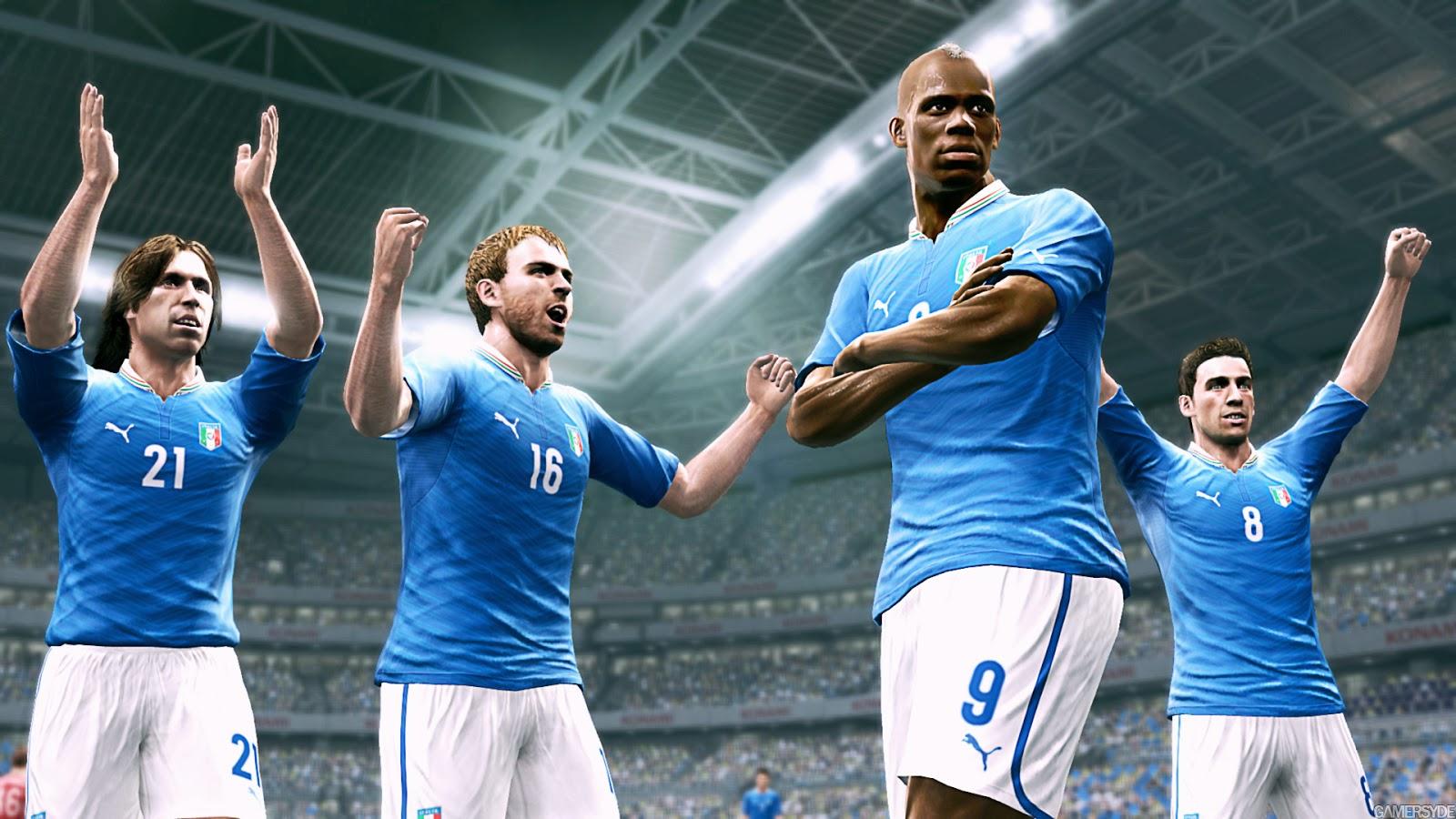 Pro Evolution Soccer 2013 giveaway