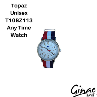 Topaz Unisex T10BZ113 Any Time Watch