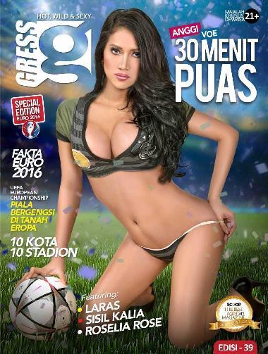 Download Majalah GRESS Magazine ED. 39 - Juni 2016 SISIL KALIA, LARAS, ANGGI VOE, ROSELIA ROSE - www.insight-zone.com
