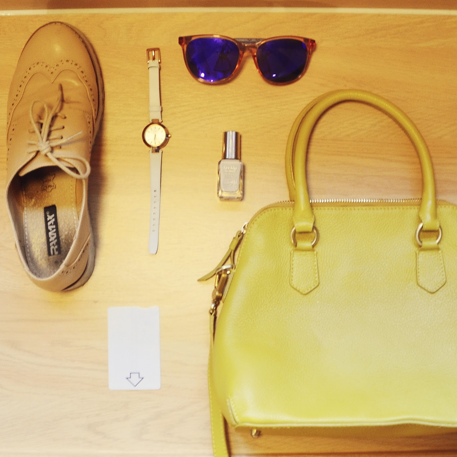 Travelodge experience york central stephi lareine for Boden yellow bag