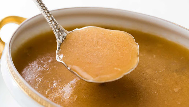 There foursquare mensurate millions of ways inwards which to shape gravy from a roast How to Make chicken Gravy