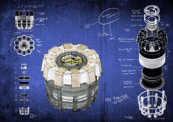 Projetar e construir um reator arc, MichellHilton.com