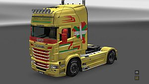 Basque Country skin for Scania RJL