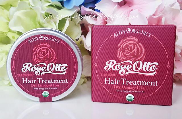 rose otto hair treatment alteya organics