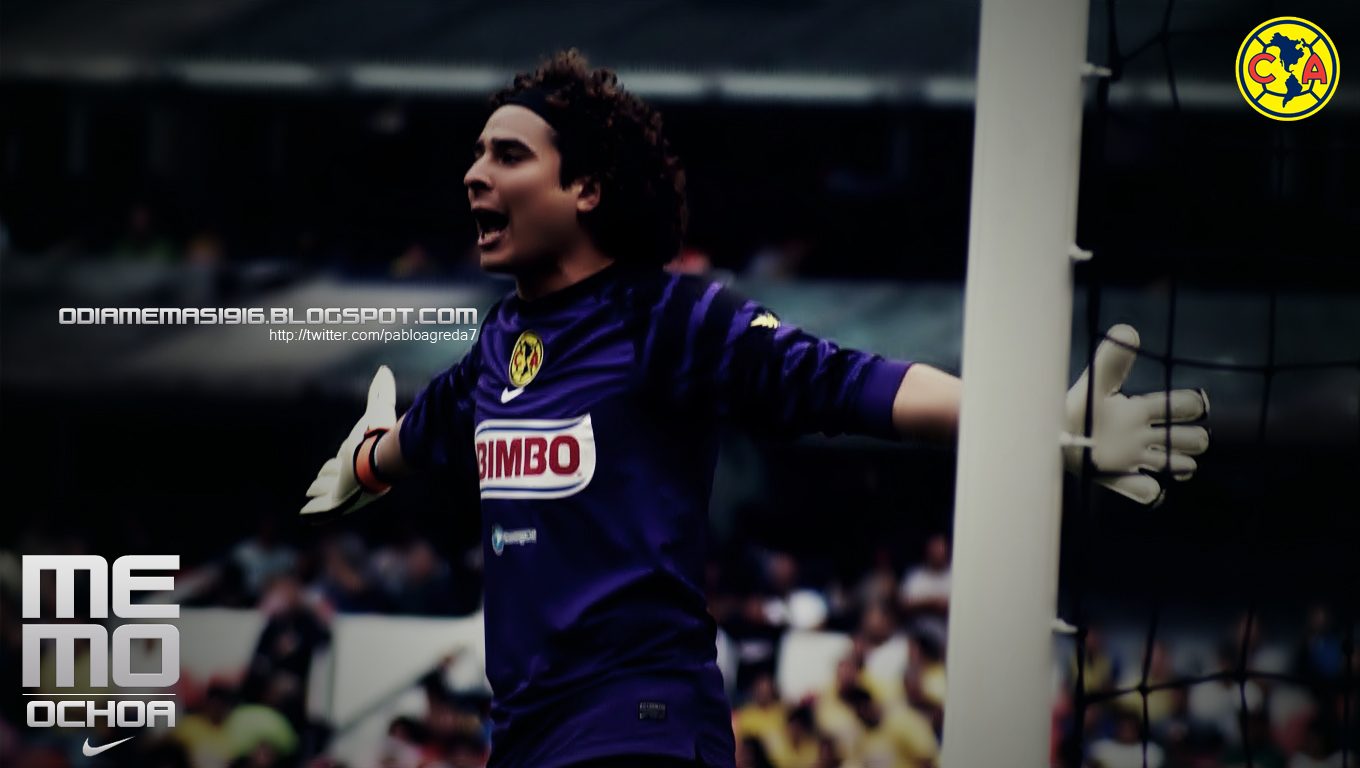 Club am rica febrero 2011 - Guillermo ochoa wallpaper ...