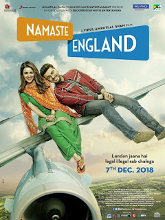 Namaste England First Look Poster