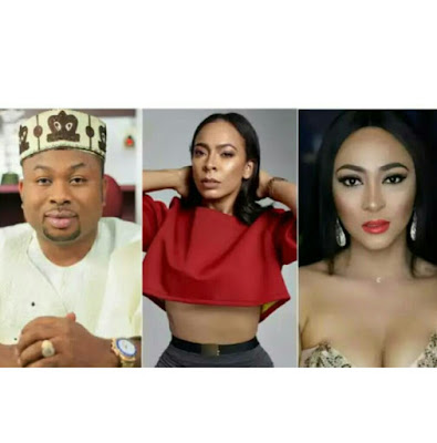 Tonto Dikeh's ex-husband, Olakunle Churchill opens up on 'love triangle' with Tboss and Rosaline Meurer
