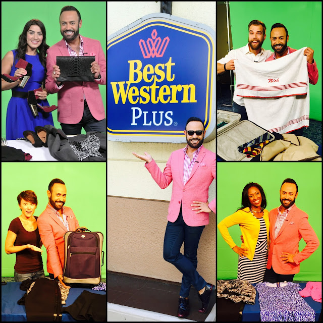 BEST WESTERN.....Nick Verreos Premieres NEW Best Western Videos and Introduces Project Runway Best Western Challenge