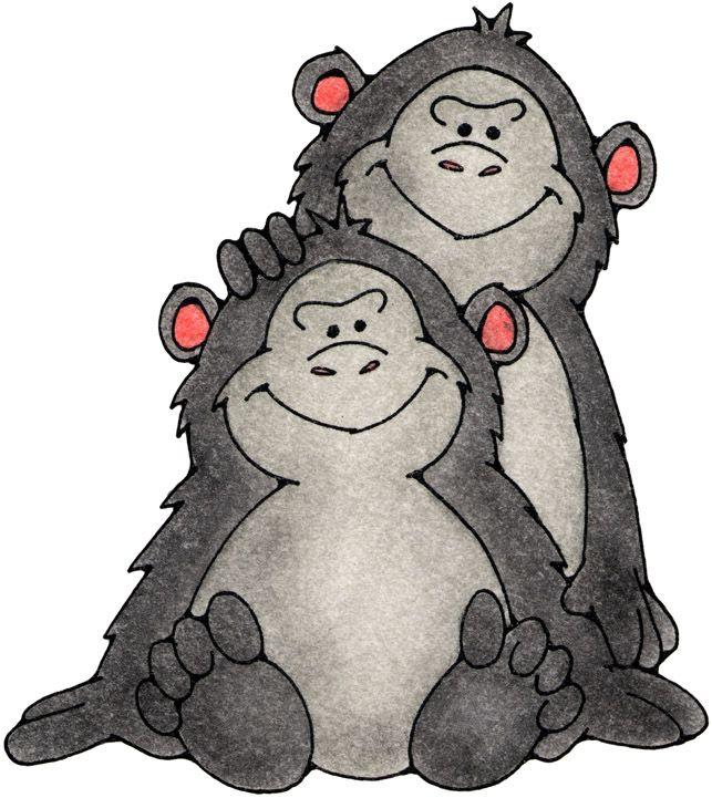 monos dibujo