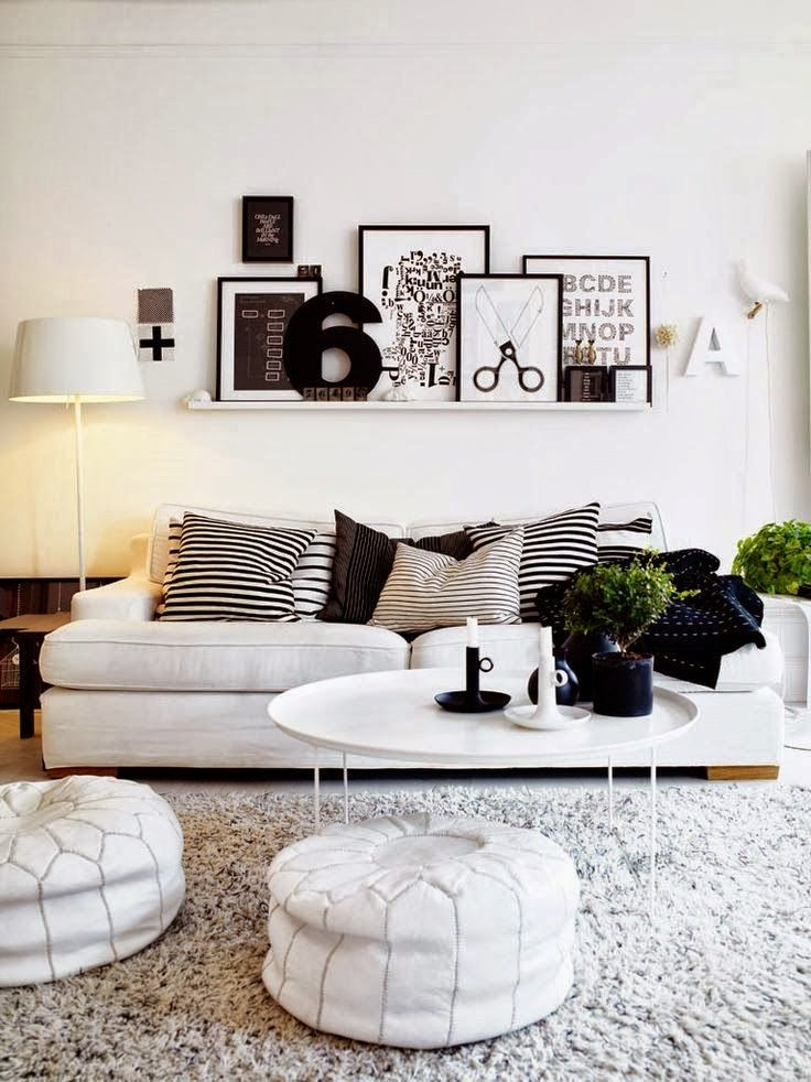 Black And White Living Room Ideas Pinterest 4