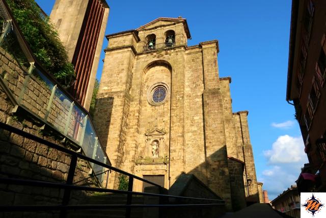 Pasai Donibane, iglesia de San Juan Bautista