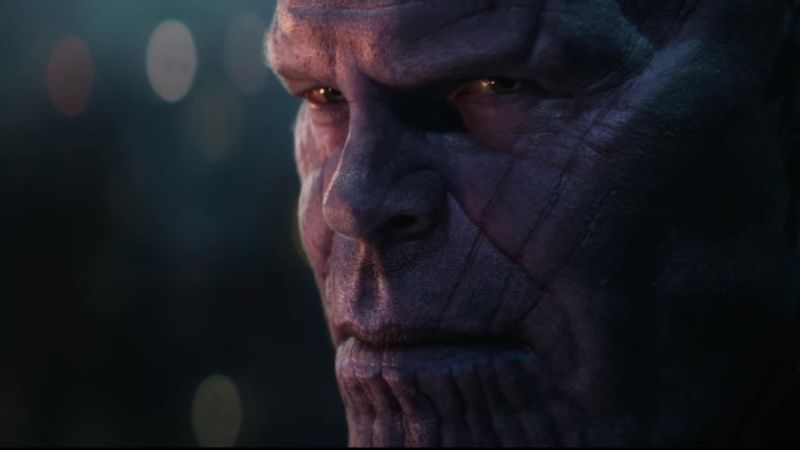 AVENGERS: INFINITY WAR Promo Poster Features Thanos and the