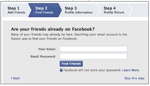 Sign Up For Facebook New Account