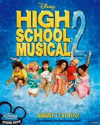 High School Musical 2 (2007) Hindi English Movie Download DVDrip