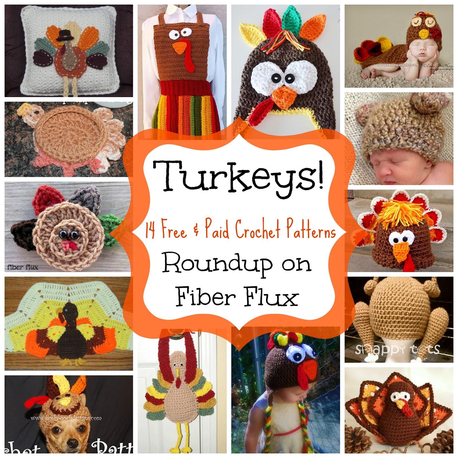 Fiber Flux Turkeys 14 Free And Paid Crochet Patterns