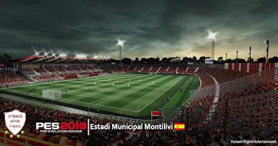 PES 2019 Stadium Municipal Montilivi by Arthur Torres