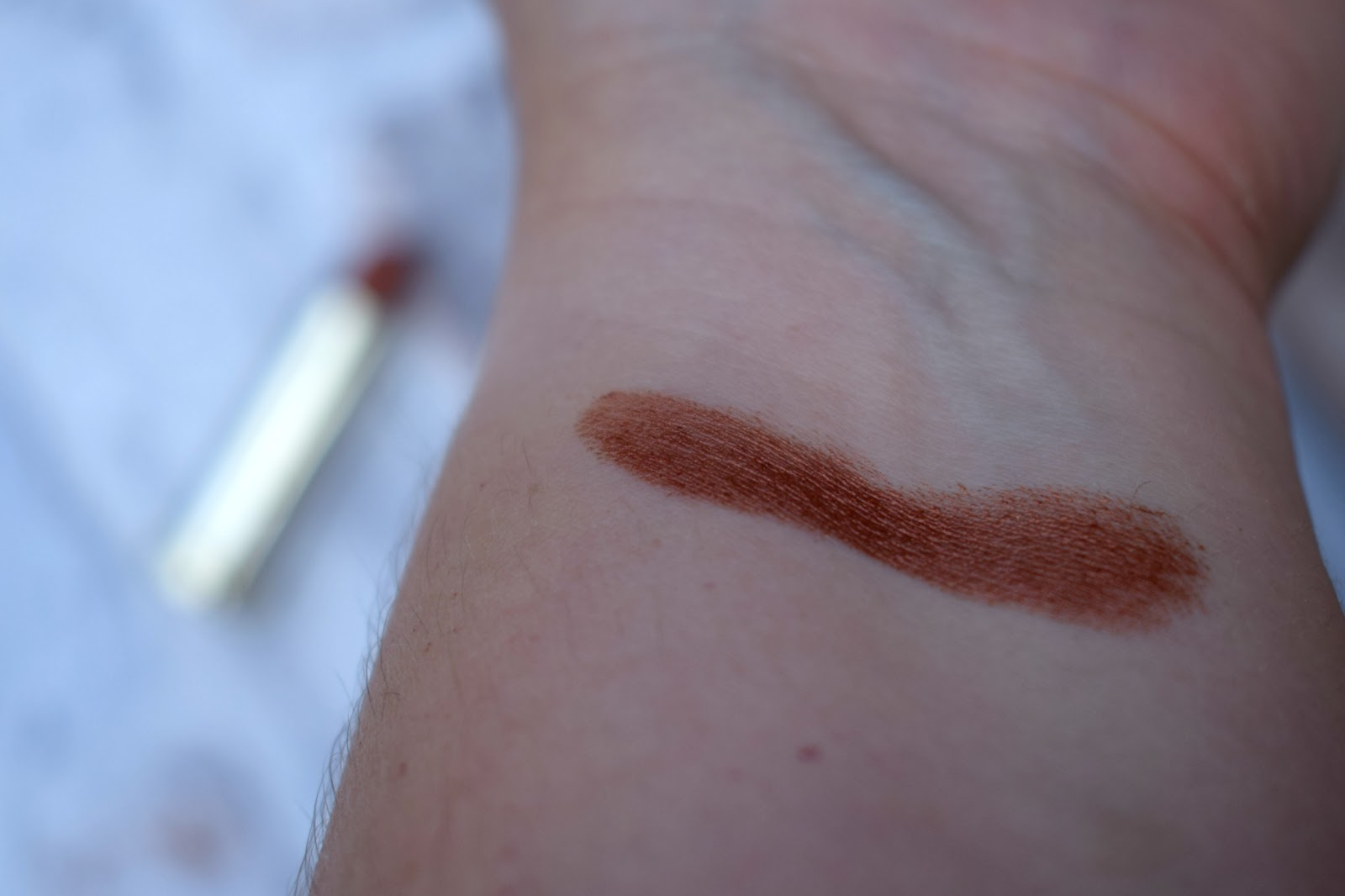 Urban Decay's Naked heat vice lipstick in scorched