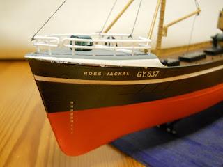 maqueta de Revell Northsea Fishing Trawler