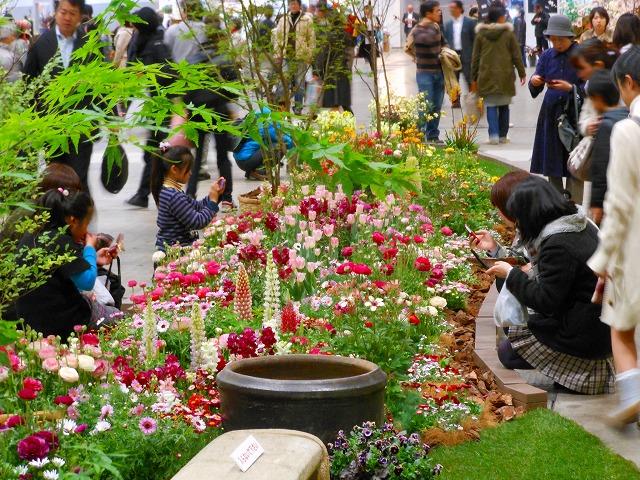 Japan Flower & Garden Show at Pacifico Yokohama, Kanagawa Pref.