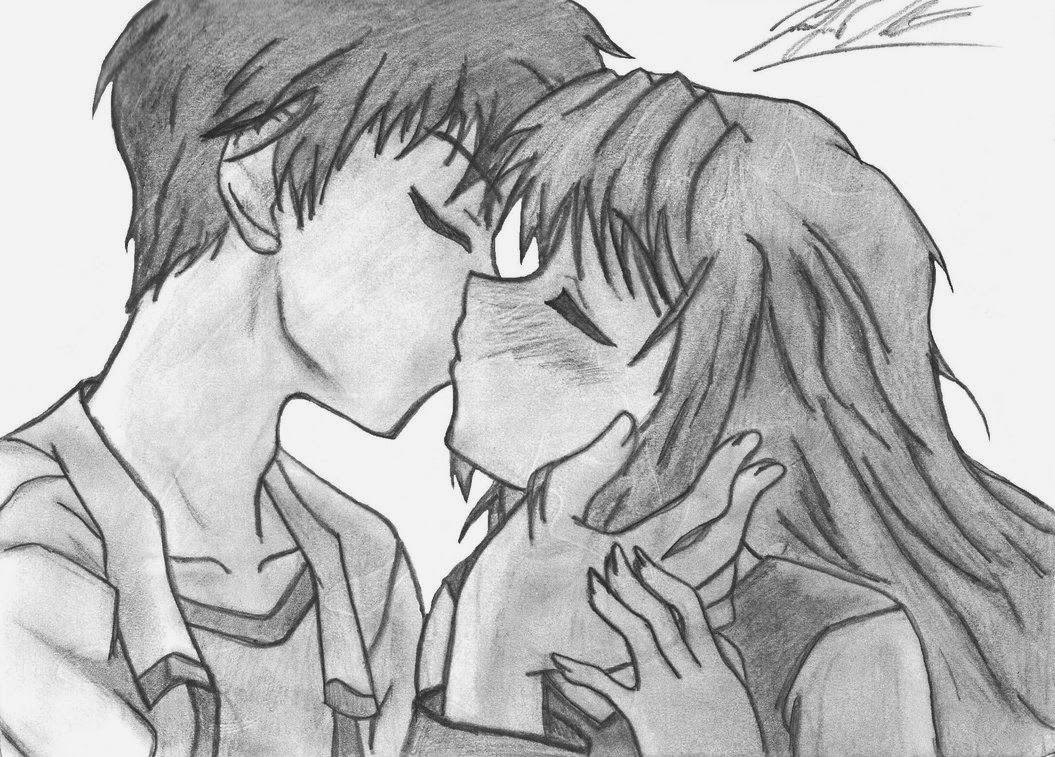Dibujos Animados De Amor De Disney Para Colorear Dibujos: Dibujos De Amor: Dibujo De Amor Anime