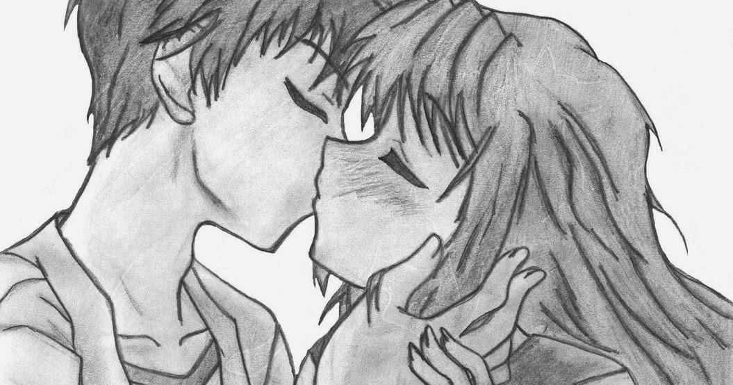 Dibujos De Amor: Dibujo De Amor Anime