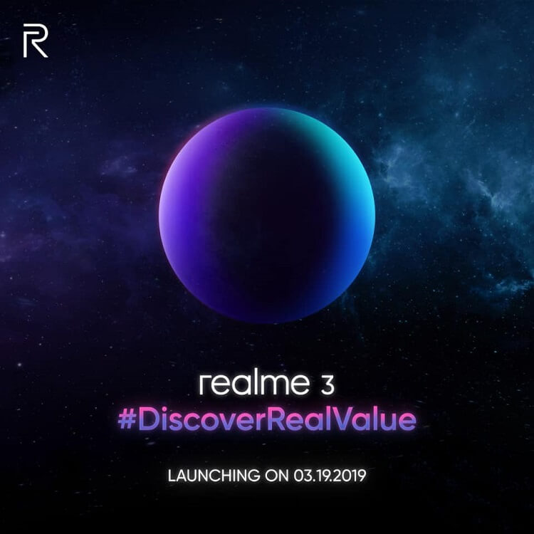 Realme 3 to Arrive in PH on March 19