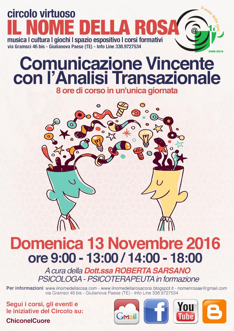 COMUNICAZIONE VINCENTE CON L'ANALISI TRANSAZIONALE