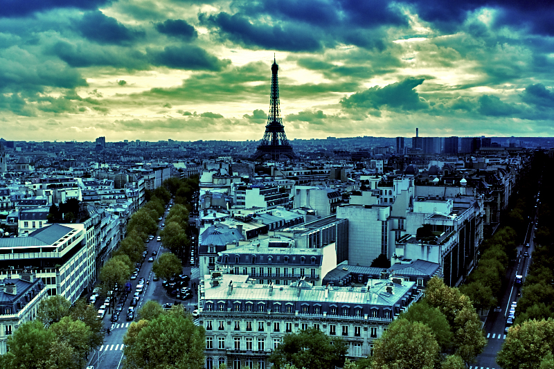 Girl Night Wallpaper Paris Paris City