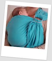 colimaçon & cie tissu écharpe sling coudre portage babywearing review test avis