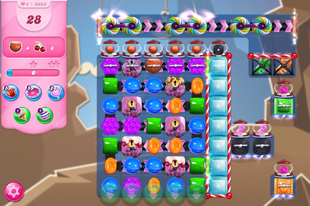 Candy Crush Saga level 6032