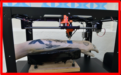 3d Printer Tattoo Machine