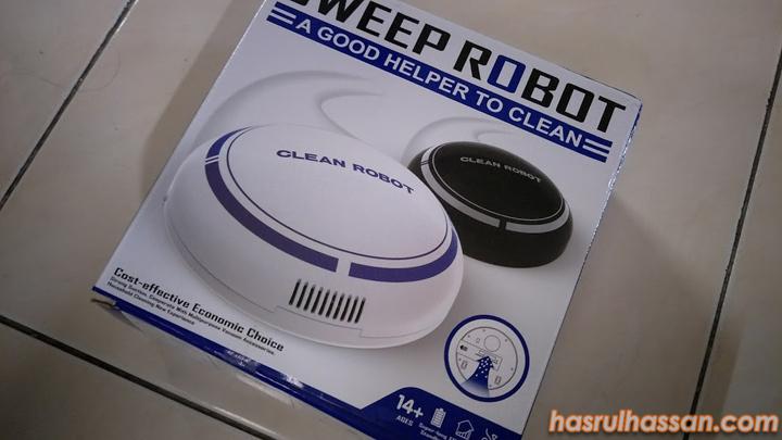 Sweeper Robot Beli Online dari Lazada Lebih Murah