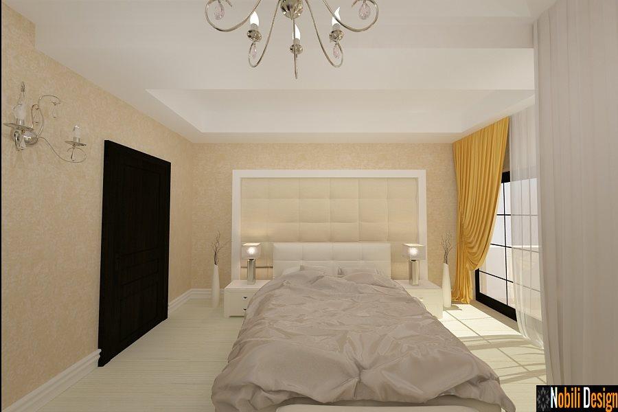 Design interior dormitor casa moderna Bucuresti | Design Interior - Amenajari Interioare - Bucuresti