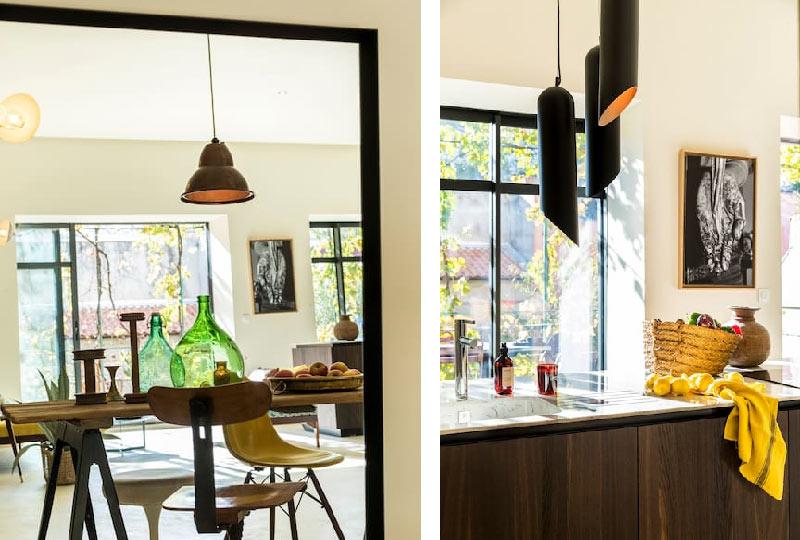 una casa dallo stile eclettico