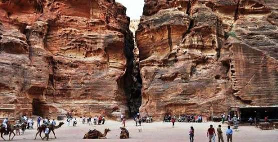 السياحة في الأردن- Siq - البتراء / وادي موسى, الأردن