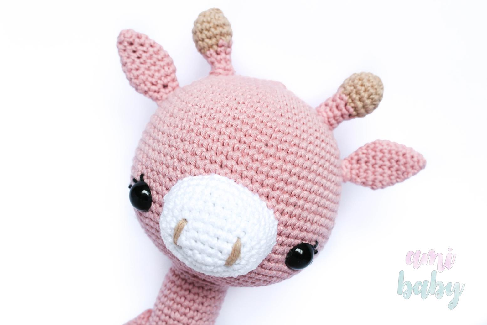 Amigurumis Para Bebes : Giraffe amigurumi for babies by storyland amis jirafa para bebés