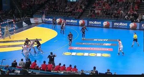 مباراة مصر تخسر من الدانمارك  26 - 22  فى كأس العالم لكرة اليد للرجال