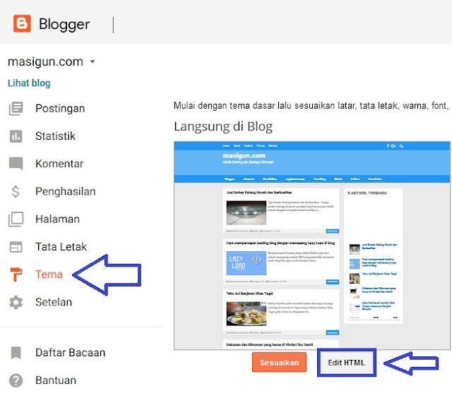 Cara memasang artikel terkait di dalam postingan