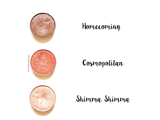 Makeup Geek Homecoming Cosmopolitan Shimma Shimma