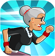 Angry Gran Run – Running Game Apk v1.71.2 Mod Money Free for android
