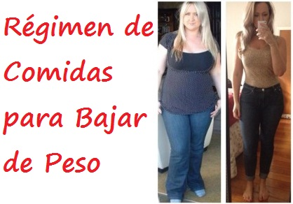 R gimen de comidas para bajar de peso plan para adelgazar - Que cenar para perder peso rapido ...