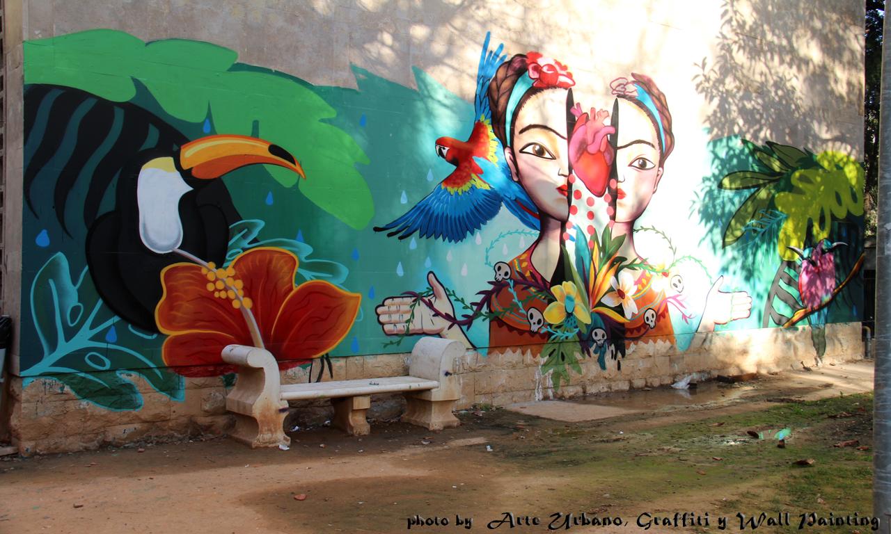 Arteurbanograffitiwallpainting arte urbano por valencia for Murales para fotografia