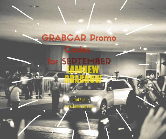 TOP GRABCAR Promo Codes for September