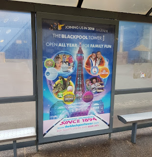 Advert for the Blackpool Tower
