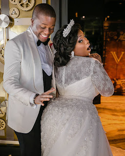 Tunde Demuren and toolz one year wedding anniversary