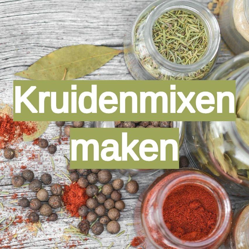 kruidenmixen specerijen mixen moestuin recepten