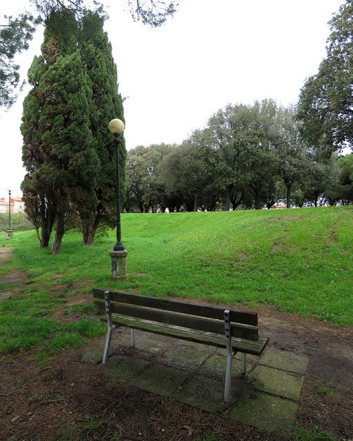 One of my favorite benches, Fortezza Nuova (New Fortress), Livorno